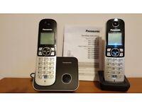 Panasonic answermachine and seperate cordless phone
