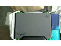 Razer vespula doubled sided mouse mat with wrist rest