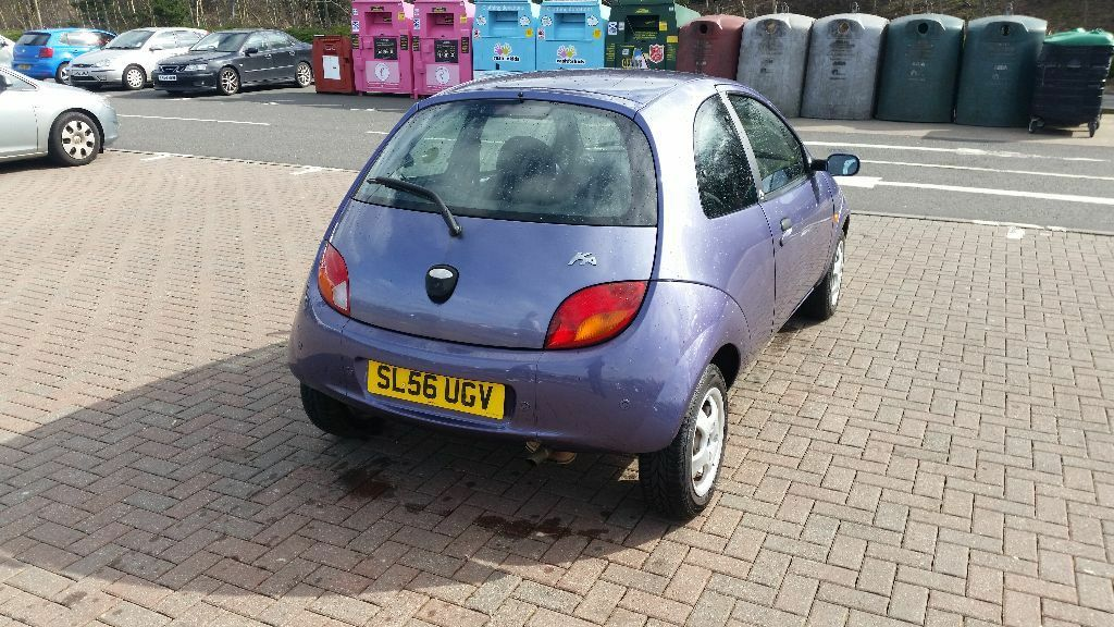 Nice Purple Ford Ka Stile