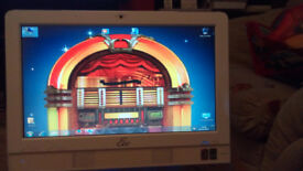 All in one 16 inch Touch screen windows computer / music, video Jukebox