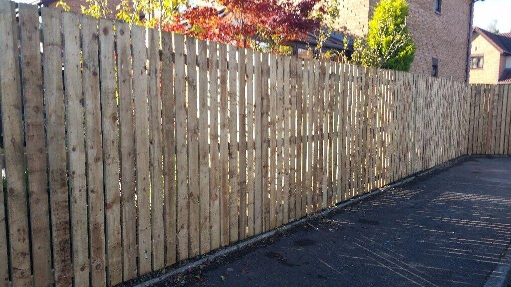 timber fences glasgow and ayrshire