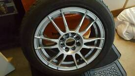 """15"""" multi fit alloys and tyres"""