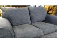 2 Seater Fabric Sofa (Used)