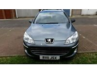 2011 Peugeot 407 SW 2.0 HDi FAP Sport 5dr Full S/H PCO Licence Register Uber Accepted