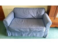 Ikea HAGALUND 2 seat sofa-bed with removable and washable cover