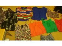 Bags of ladies brand new labeled clothes,
