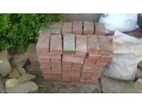 Block paving bricks stones/ Pavers wall/ Garden (Approx 110)