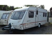 LOOK !!! BARGAIN !!! Fixed Bed Four Berth Caravan, Sterling Eccles Onyx 2000, Must Be Seen !!!
