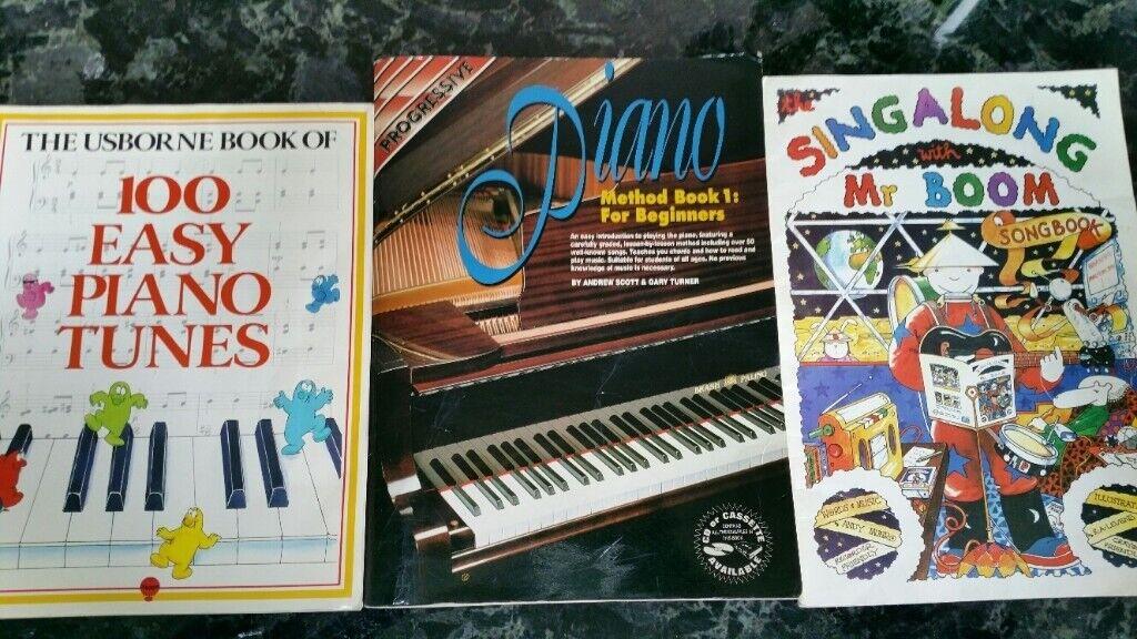 Three Kid's or Beginner's Piano Books | in Grange, Edinburgh | Gumtree