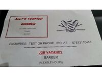 Experienced Barber and Trainee Barber. 2 Available Posts. Both Immediate Start. Onsite Training