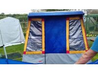 Frame tent and extras £100