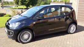 Volkswagen Up! 2012 1.0 High Up 3 door Black