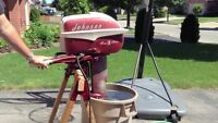 1957 JOHNSON 18 SEA-HORSE HP OUTBOARD