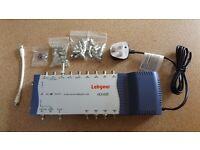 Labgear HDU 681 Sky Satellite 8 Way Distribution Box Splitter