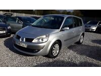 Renault GRAND SCENIC 1461cc Diesel, MANUAL, SILVER, 2008, LONG MOT. **£895**,7 Seats.