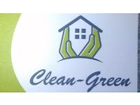 Clean-Green: domestic and commercial cleaning!Eco,organic,healthy cleaning! Service /Contact ,24/7