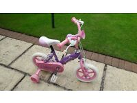 Girls 12inch Bike with Helmet
