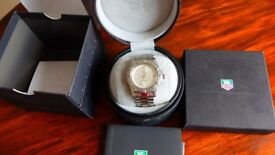 Tag Heuer full size Mens 2000 Automatic watch all boxes , paperwork original sale receipt stainless