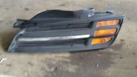 NISSAN MICRA 2003 PASSENGRT NEARSIDE FRONT GRILL WITH INDICATOR