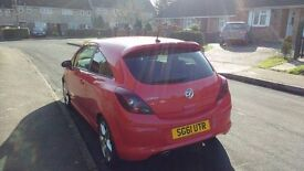 Corsa 1.4 SRi - 3 Door Hatchback - Low Mileage - New M.O.T. - Red
