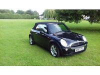 Mini convertible one owner from new 1 years MOT two keys service history 2007