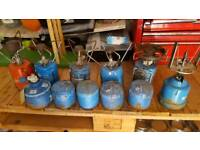 Camping stoves plus kettles