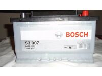 BOSCH DIESEL BATTERY FITS VW, F/FOCUS DIESEL CARS NEW 73.75 PAID