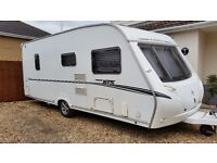 2007 Abbey 418GTS 4 berth fixed bed, motor mover, full awning, great condition