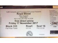 Royal Blood Tickets - 17/11/17 - Leeds First Direct Arena