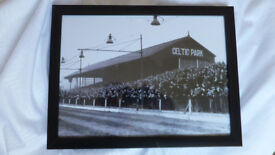 celtic park'' old football ground & greyhound racing track belfast sign