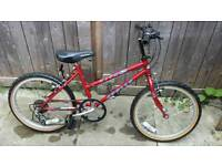 Kids mountain bike with gears age 6 to 9 years old