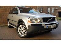 Volvo XC90 2.4 D5 SE SUV 5dr Diesel Geartronic ((FSH+SAT NAV+7 SEATHER+8 MONTHS MOT))