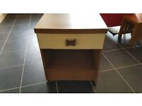 Brown Bedside Table - Great condition!