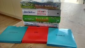 David Walliams Entertaining Books Bundle. Awful Auntie, Demon Dentist, Bad Dad, Ratburger.