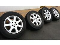 Mercedes ML alloy wheels and tyres