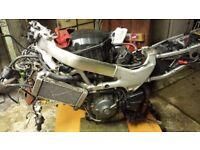 HONDA VTR1000 FIRESTORM COMPLETE RUNNING ENGINE MOTOR VTR 1000