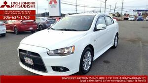 2015 Mitsubishi Lancer SE 4WD - Loaded for only $156/biweekly!