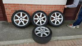 Honda 3 x 114.3 Alloys 17' with or without tyres Bravurius