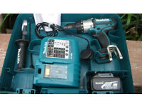 Professional 18V Heavy Duty Makita 18v LXT 3 speed BHP451 Drill, Mint Condition! Cost £249.99 new!