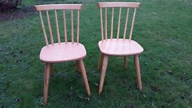 Traditional Pine Kitchen Chairs