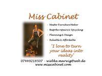Lady Master Joiner&Wood Engineer/Design/Planning/Furniture/Bespoke/Repairs/Recyclel/Reliable