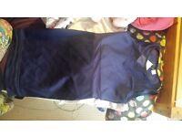 H&M BRAND NEW blue size 14 dress