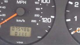 NISSAN PRIMERA, NEW MOT, 75000 MILES ONLY