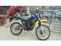 125cc motorbike project