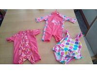 Baby girls swim wear 6-9months