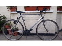 21 speed Chrome Peugeot bike for Tall people 5ft8+