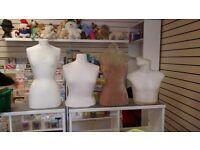Set of mannequins
