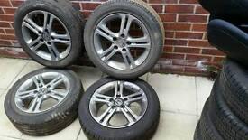 5x114.3 honda alloys with tyres