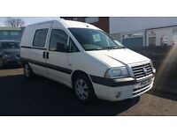 Fiat Scudo Special. 5 seats with 3 point belts. 2006 diesel, full MOT 2L (tow bar)