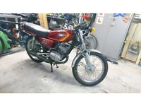 Yamaha RXS 100 motorbike good condition, gibson allspeed exhaust